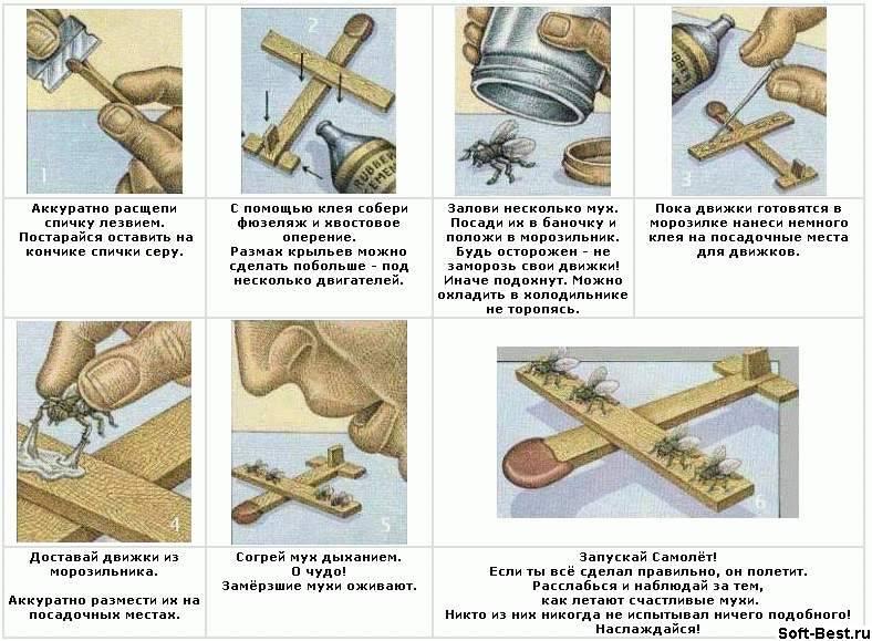 Как сделать в домашних условиях муху