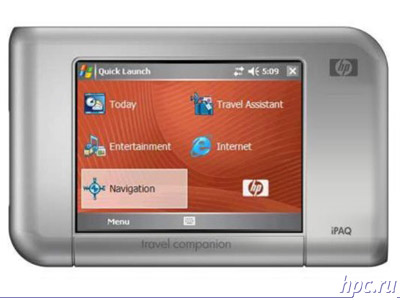 HP iPAQ rx4000 Mobile Media Companion