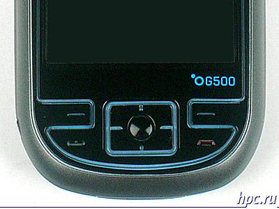 E-Ten G500: элементы управления