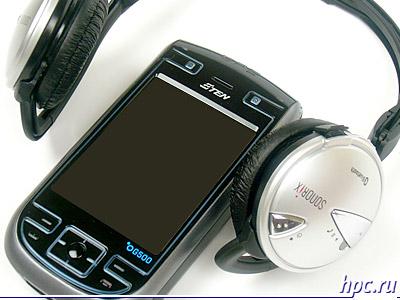 Слушать музыку на E-Ten G500 можно без проводов