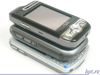 Mio A700, E-Ten G500 и HP iPAQ hw6515