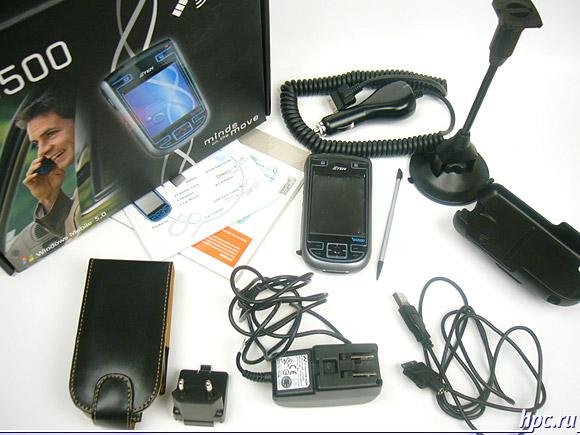 E-Ten G500: комплект