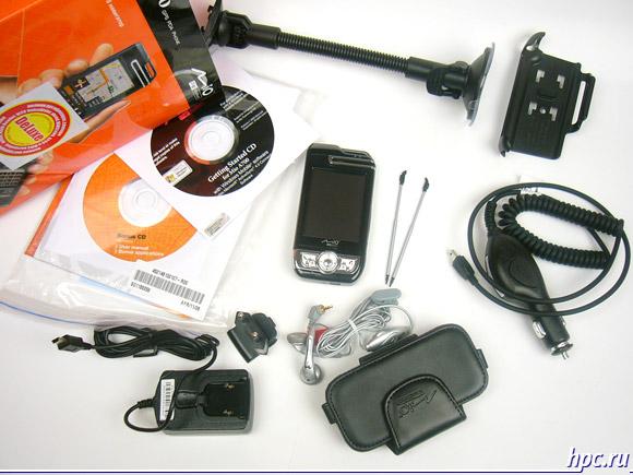 Mio A700: комплект