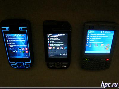E-Ten G500, Mio A700 и HP iPAQ hw6515
