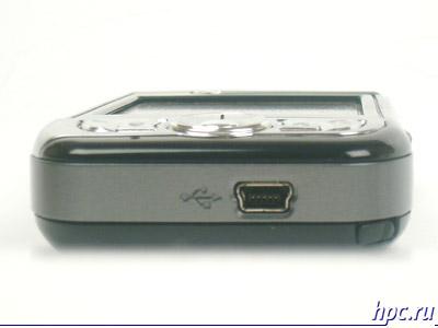 Mio A700: нижний торец