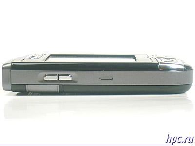 Mio A700: левый торец