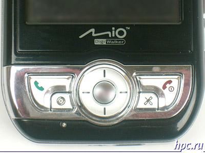 Mio A700: элементы управления