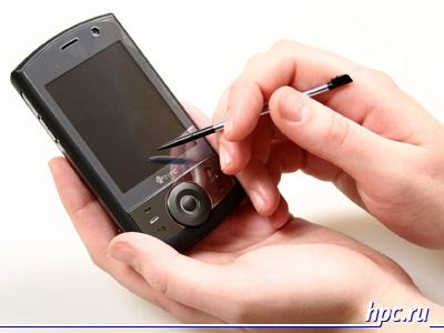 mobile review htc touch cruise a review of the engineering model rh mobilereview en blogspot com Smartphone HTC HTC Phones