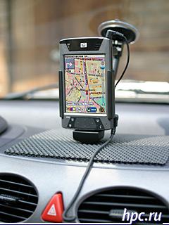 GPS-навигационная система PocketGPS Pro на HP iPAQ 4700
