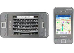 Pharos 600 GPS Phone – новый коммуникатор на хорошо знакомой платформе