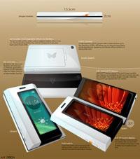 Butterfly – необычный концепт на тему iPhone
