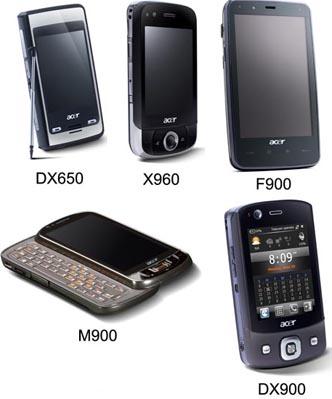 Acer представляет новые коммуникаторы