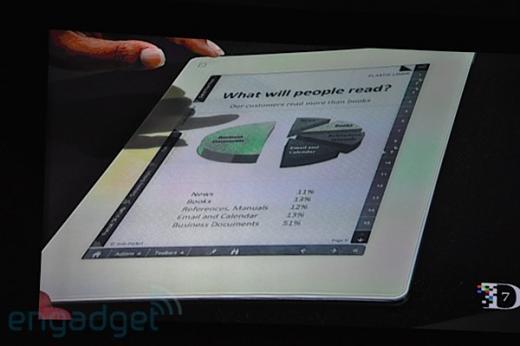 3G eBook от Plastic Logic