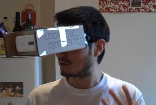 Очки виртуальной реальности своими руками для планшета 77