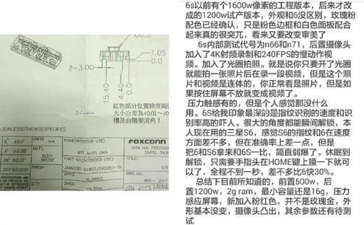 Появились сведения о камере iPhone 6s