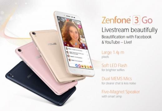 Утечка: фото ихарактеристики недорогого Asus Zenfone 3 Go