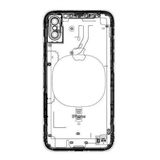 Концептуальный автомобиль безрамочного iPhone 8 сTouchID под экраном
