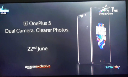 OnePlus 5 для запуска сбатареей 4000 мАч итремя вариантами цвета