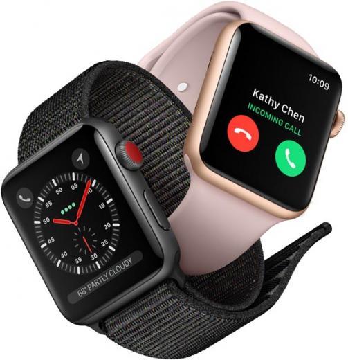 Apple Watch Series 3 сLTE представлены официально