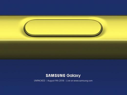 Samsung Galaxy Note 9 представят 9 августа