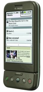 У смартфона G1 предусмотрен multi-touch?