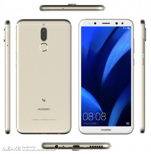 Специалисты рассекретили 1-ый безрамочный смартфон Huawei счетырьмя камерами
