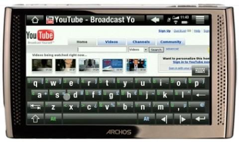 Интернет-планшет от Archos