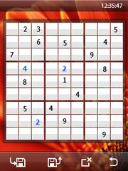 Resco Sudoku Touch для Windows Mobile Pocket PC