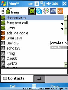Instant messaging client for ICQ, Yahoo and MSN