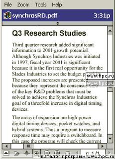 Pocket Pc Pdf Reader